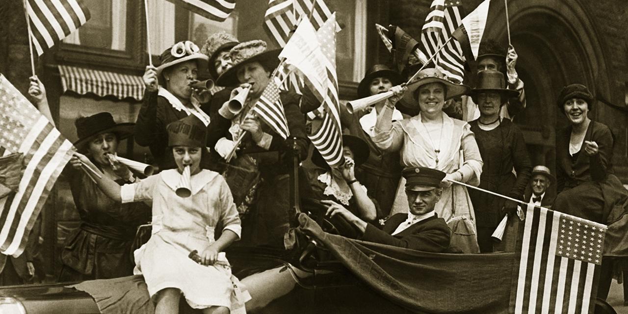 100th anniversary of the 19th Amendment  - cover